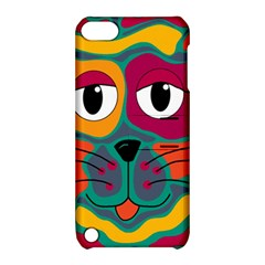 Colorful cat 2  Apple iPod Touch 5 Hardshell Case with Stand
