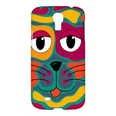 Colorful cat 2  Samsung Galaxy S4 I9500/I9505 Hardshell Case