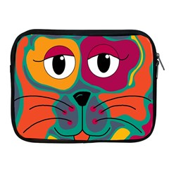 Colorful cat 2  Apple iPad 2/3/4 Zipper Cases
