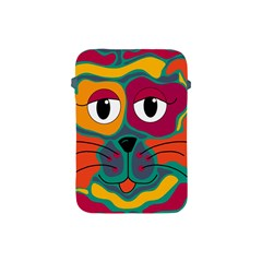 Colorful cat 2  Apple iPad Mini Protective Soft Cases