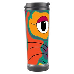 Colorful cat 2  Travel Tumbler