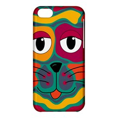 Colorful cat 2  Apple iPhone 5C Hardshell Case