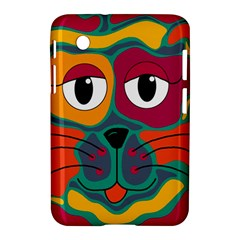 Colorful cat 2  Samsung Galaxy Tab 2 (7 ) P3100 Hardshell Case