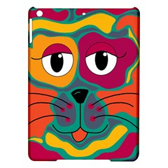 Colorful cat 2  iPad Air Hardshell Cases