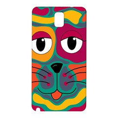 Colorful cat 2  Samsung Galaxy Note 3 N9005 Hardshell Back Case