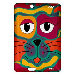 Colorful cat 2  Amazon Kindle Fire HD (2013) Hardshell Case