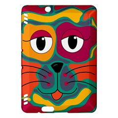 Colorful cat 2  Kindle Fire HDX Hardshell Case