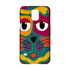 Colorful cat 2  Samsung Galaxy S5 Hardshell Case