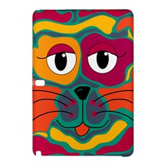 Colorful cat 2  Samsung Galaxy Tab Pro 10.1 Hardshell Case