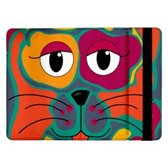 Colorful cat 2  Samsung Galaxy Tab Pro 12.2  Flip Case
