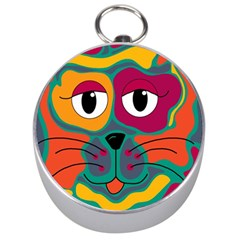 Colorful cat 2  Silver Compasses