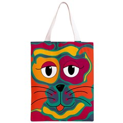 Colorful cat 2  Classic Light Tote Bag