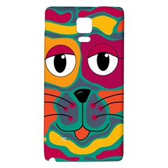Colorful cat 2  Galaxy Note 4 Back Case