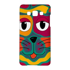 Colorful cat 2  Samsung Galaxy A5 Hardshell Case