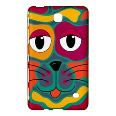 Colorful cat 2  Samsung Galaxy Tab 4 (7 ) Hardshell Case
