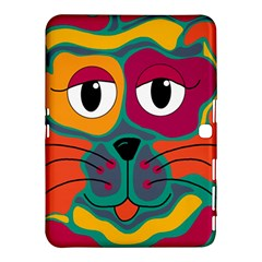 Colorful cat 2  Samsung Galaxy Tab 4 (10.1 ) Hardshell Case