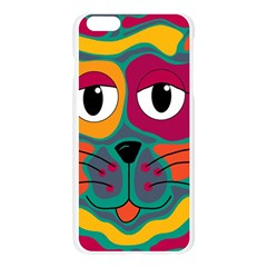 Colorful cat 2  Apple Seamless iPhone 6 Plus/6S Plus Case (Transparent)