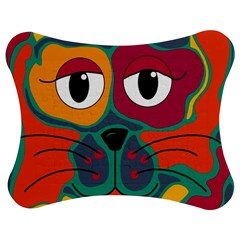 Colorful cat 2  Jigsaw Puzzle Photo Stand (Bow)