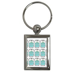 Beer Pattern Drawing Key Chains (Rectangle)