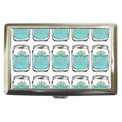Beer Pattern Drawing Cigarette Money Cases