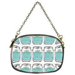 Beer Pattern Drawing Chain Purses (One Side)