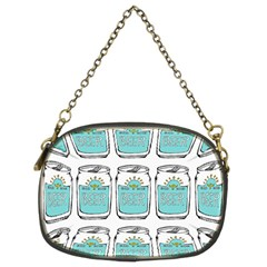 Beer Pattern Drawing Chain Purses (Two Sides)