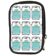 Beer Pattern Drawing Compact Camera Cases