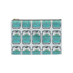 Beer Pattern Drawing Cosmetic Bag (Medium)