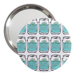 Beer Pattern Drawing 3  Handbag Mirrors