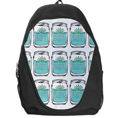 Beer Pattern Drawing Backpack Bag