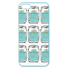 Beer Pattern Drawing Apple Seamless iPhone 5 Case (Color)