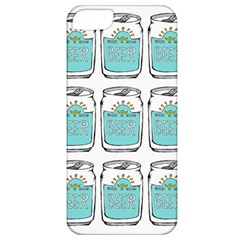 Beer Pattern Drawing Apple iPhone 5 Classic Hardshell Case