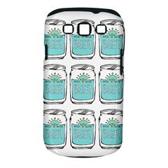 Beer Pattern Drawing Samsung Galaxy S III Classic Hardshell Case (PC+Silicone)