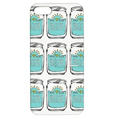 Beer Pattern Drawing Apple iPhone 5 Hardshell Case with Stand