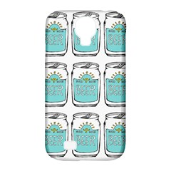 Beer Pattern Drawing Samsung Galaxy S4 Classic Hardshell Case (PC+Silicone)