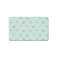 Butterfly Pastel Insect Green Magnet (Name Card)