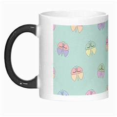 Butterfly Pastel Insect Green Morph Mugs