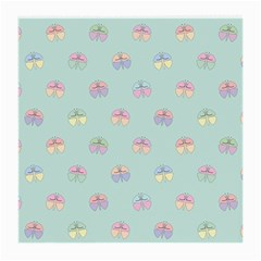 Butterfly Pastel Insect Green Medium Glasses Cloth (2-Side)