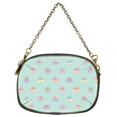 Butterfly Pastel Insect Green Chain Purses (Two Sides)