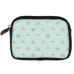 Butterfly Pastel Insect Green Digital Camera Cases