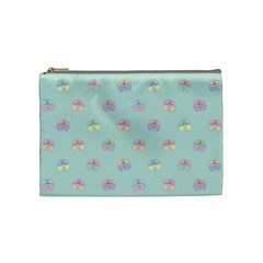 Butterfly Pastel Insect Green Cosmetic Bag (Medium)