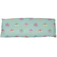 Butterfly Pastel Insect Green Body Pillow Case (Dakimakura)