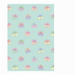Butterfly Pastel Insect Green Small Garden Flag (Two Sides)
