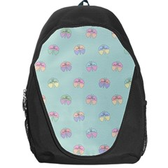 Butterfly Pastel Insect Green Backpack Bag