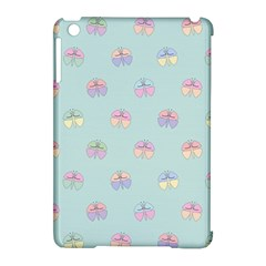 Butterfly Pastel Insect Green Apple iPad Mini Hardshell Case (Compatible with Smart Cover)
