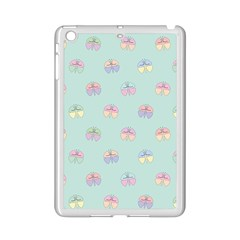 Butterfly Pastel Insect Green iPad Mini 2 Enamel Coated Cases