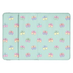 Butterfly Pastel Insect Green Samsung Galaxy Tab 8.9  P7300 Flip Case