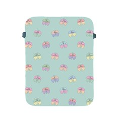 Butterfly Pastel Insect Green Apple iPad 2/3/4 Protective Soft Cases