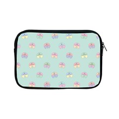 Butterfly Pastel Insect Green Apple iPad Mini Zipper Cases