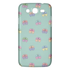 Butterfly Pastel Insect Green Samsung Galaxy Mega 5.8 I9152 Hardshell Case